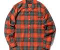 嵐 二宮和也ア 嵐にしやがれ1/25 衣装 BEAMS SPLUS / COOLMAX(R) チェック柄 オープンカラー シャツ