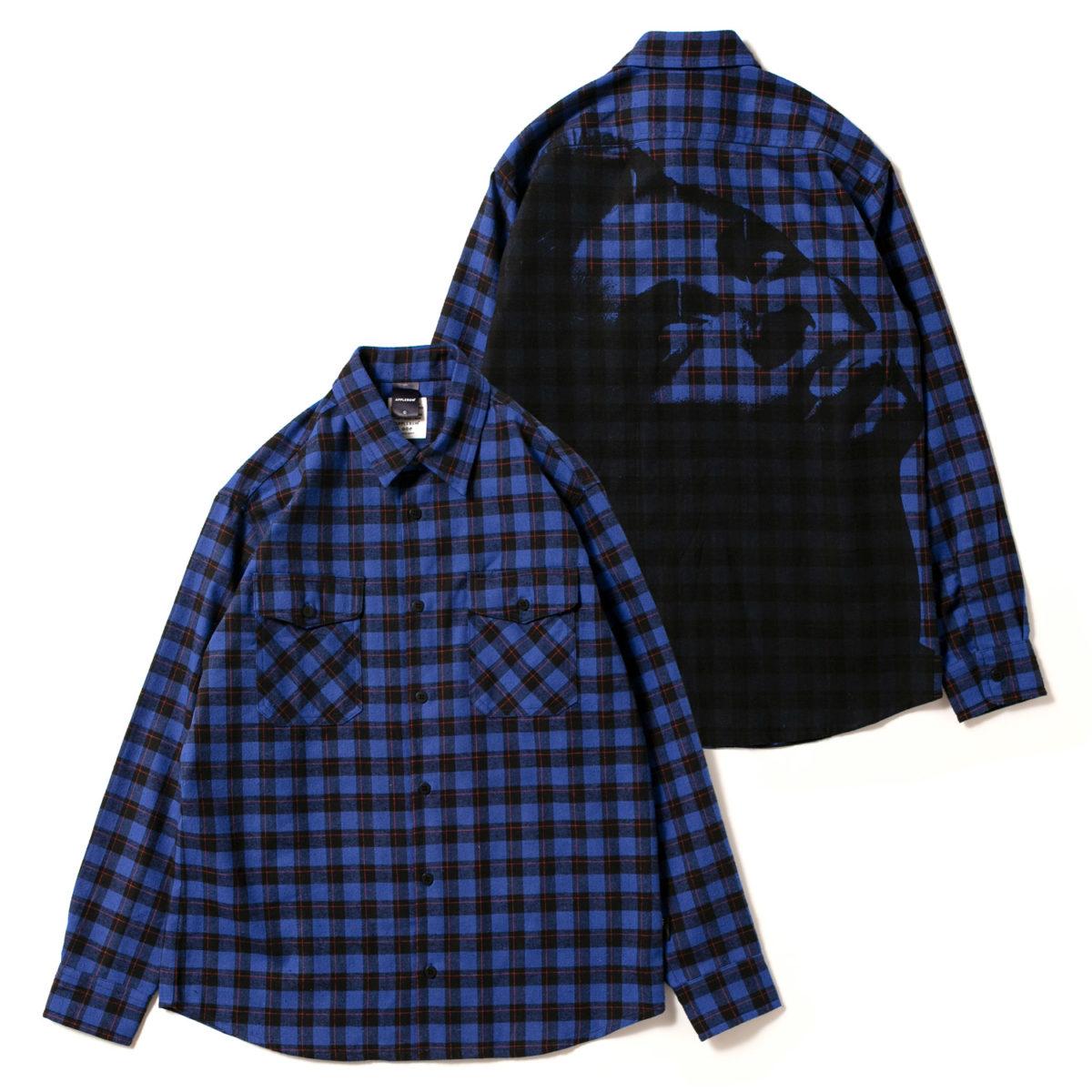 【嵐 衣装 松本潤さん】◆VS嵐 2020/1/16◆チェック柄ネルシャツ