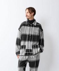嵐 嵐にしやがれ 松本潤 1/18 衣装 Steven Alan <NOMA t.d.> PLAID BLOUSON/