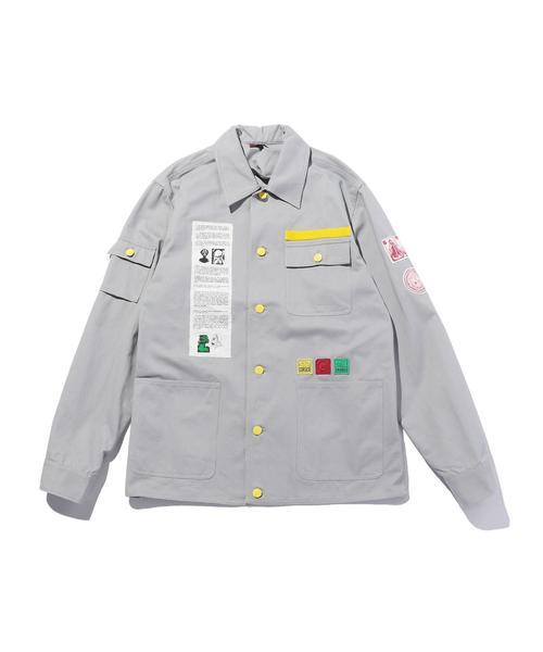 VS嵐 松本潤 衣装 CLOT  APPLIQUE CHORE JKT/ワークジャケット