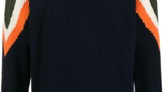 キスマイ Kis-My-Ft2 藤ヶ谷太輔 私服 ニット Sacai contrast knit jumper