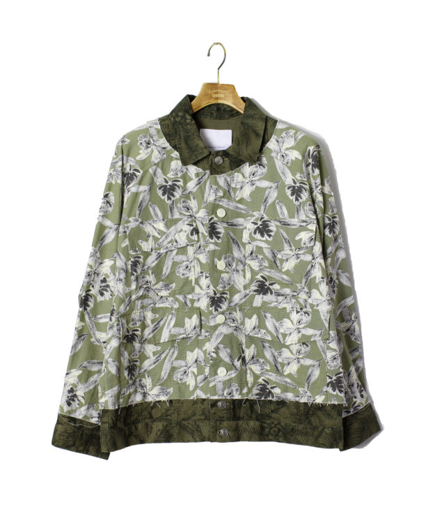嵐 相葉雅紀 嵐にしやがれ 1/25 衣装 Enharmonic TAVERN Layered Military Blouson