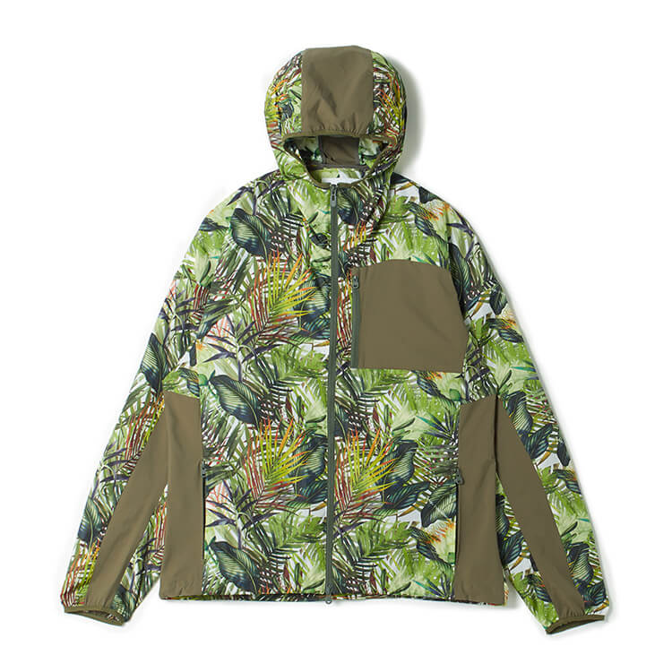 嵐 大野智 VS嵐 衣装 3/26 instagram インスタ  BOTANICAL PRINTED HOODED PARKA