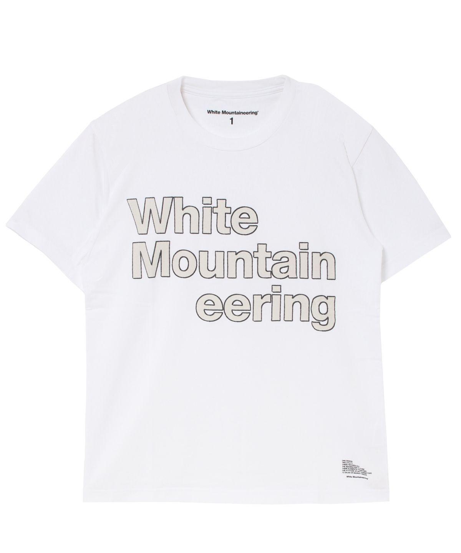 嵐 大野智 VS嵐 衣装 3/26 instagram インスタ 【White Mountaineering】ステッチロゴプリントTシャツ