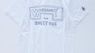 嵐 大野智 Johnny's World Happy LIVE with YOU Youtube 衣装 Tシャツ Engineered Garments Workaday Printed C/N Pocket Tee -Workaday for Everyone