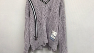 嵐 松本潤 VS嵐 4/23 衣装 MIHARAYASUHIRO SUSPENDER knit Vネック ニット