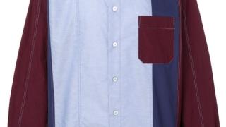 松本潤 嵐 ワクワク学校オンライン 告知 衣装 MARNI カラーブロック カラーブロッキング シャツ