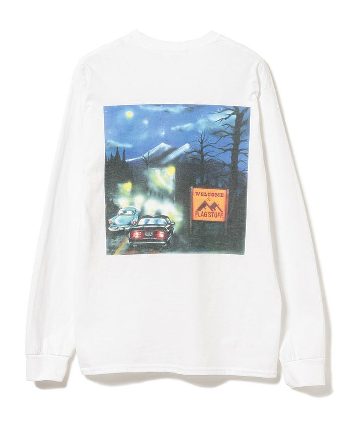 VS嵐 4/30 相葉雅紀 衣装 F-LAGSTUF-F / Welcome Long Sleeve Tee Tシャツ