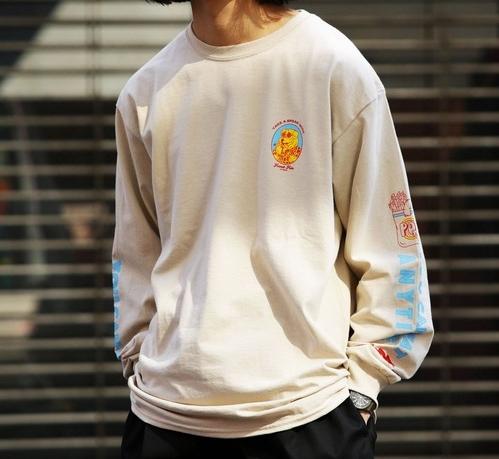 VS嵐 4/30 二宮和也 衣装 Tシャツ LID BREAK×FREAK'S STORE 別注French friesロングススリーブTシャツ