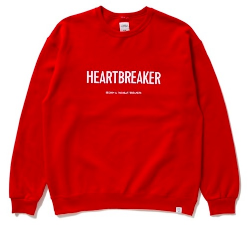 VS嵐 5/28 6/4 大野智 衣装 BEDWIN & THE HEARTBREAKERS L/S C-NECK SWEAT 'LOU'