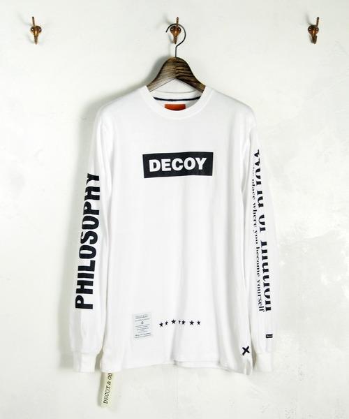 嵐 相葉雅紀 私服 NETFLIX Voyage 10話 6/30 DECOY&Co. (デコイアンドシーオー) DECOY&Co. 2019 SPRING/SUMMER World of Illution Long Tee Tシャツ