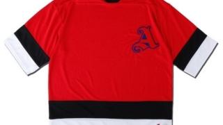 VS嵐 二宮和也 6/25 7/2 衣装 ADANS アダンス HOCKEY TEE ホッケーTシャツ