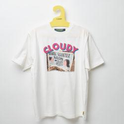 """嵐 櫻井翔 私服 Tシャツ CLOUDY Lunch T-shirts PHOTO """"CLOUDY PINK"""