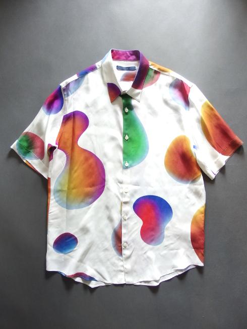 道枝駿佑 なにわ男子 BG 身辺警護人 衣装 semoh セモー GRAPHIC PRINT SHIRT グラフィックプリントシャツ