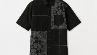 大野智 嵐にしやがれ 7/11 衣装 LOVELESS ラブスカル柄 バンダナシャツ