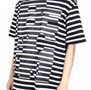 キスマイ Kis-My-Ft2 千賀健永 Mステ 7/3 衣装  kolor BEACON ボーダー Tシャツ