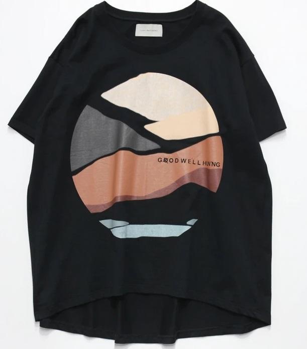アイアム冒険少年 目黒蓮 衣装 LICHT BESTREBEN グラフィックTシャツ 魚突き 渓流