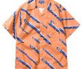 道枝駿佑 なにわ男子 TVガイド テレビガイド 衣装 Lafayette ラファイエット 90s POLYGON LOGO OPEN COLLAR オープンカラーシャツ