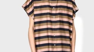 相葉雅紀  嵐ツボ 8/27 衣装 :Paul Smith コントラストボーダー ノースリーブシャツ