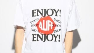 有岡大貴 ヒルナンデス 8/18 衣装 【Alife / エーライフ】 ENJOY A life tee