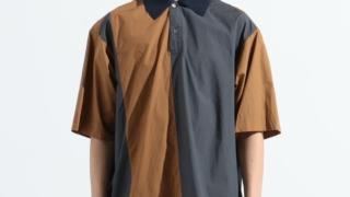 松本潤 嵐にしやがれ 8/15 衣装 シャツ TOMORROWLAND MEN コットンタイプライター デザインショートスリーブシャツ