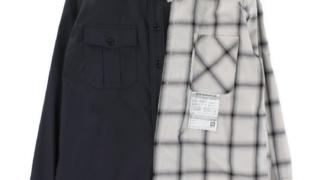 中島健人 Sexy Zone 林先生も驚く初耳学 8/2 衣装 シャツ MAISON MIHARA YASUHIRO Left Doccking Shirts