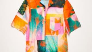 玉森裕太 ENDLESS SUMMER MV 衣装Acne Studios Short-sleeve botanical-print shirt