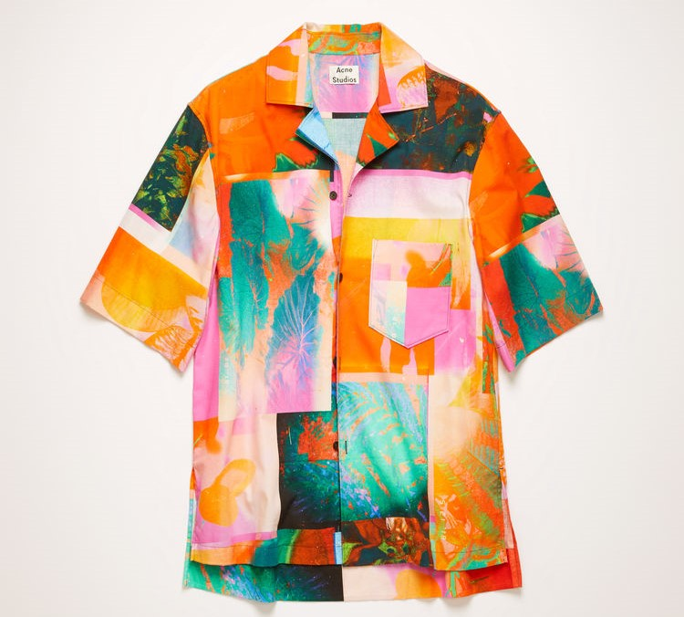 玉森裕太 ENDLESS SUMMER MV 衣装Acne Studios Short-sleeve botanical-print shirt
