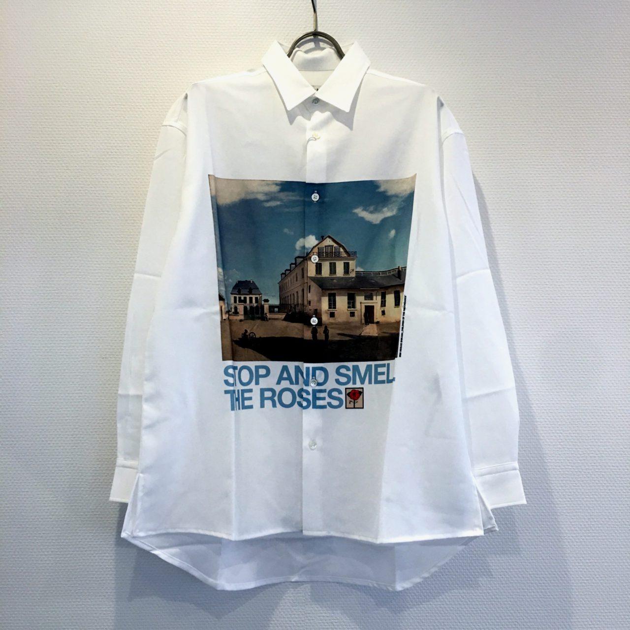 深澤辰哉 Snow Man MORE 2020年10月号 衣装 シャツ Children of the discordance / OIL PAINTING PRINT SHIRT
