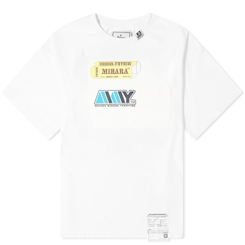 二宮和也 VS嵐 8/27 衣装 Tシャツ MAISON MIHARA YASUHIRO] PACKAGE LOGO TEE