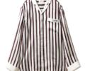 山田涼介 Myojo 衣装  Joel Robuchon & gelato pique HOMME ストライプサテンシャツ
