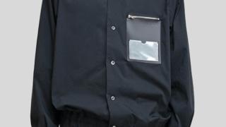 大野智 嵐にしやがれ 9/5 衣装 NULABEL CM1YOK42 ID POCKET SHIRT 葉加瀬太郎 記念館