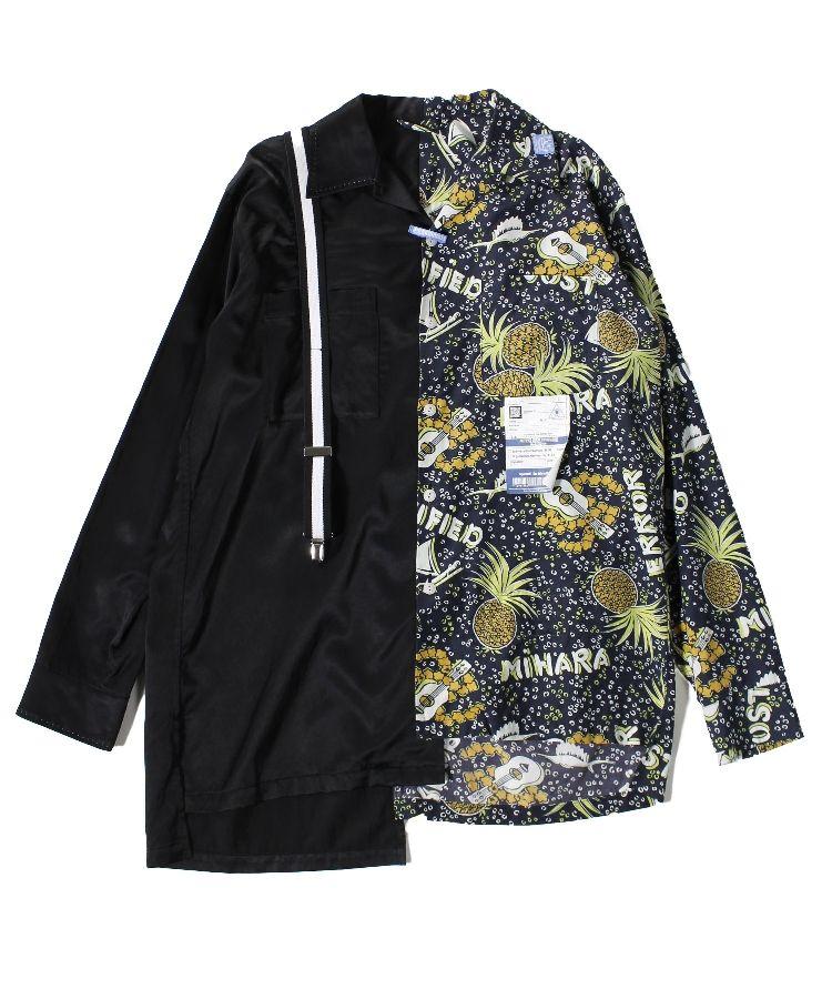 北山宏光 9/16 バナナサンド 衣装 MASON MIHARA YASUHIRO Suspender shirt
