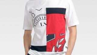 薮宏太 Hey!Say!JUMP VS嵐 9/24 衣装 TOMMY HILFIGER Tシャツ
