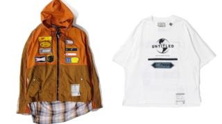 相葉雅紀 VS嵐 9/17 衣装 MAISON MIHARA YASUHIRO Back Docking Light Blouson Tシャツ