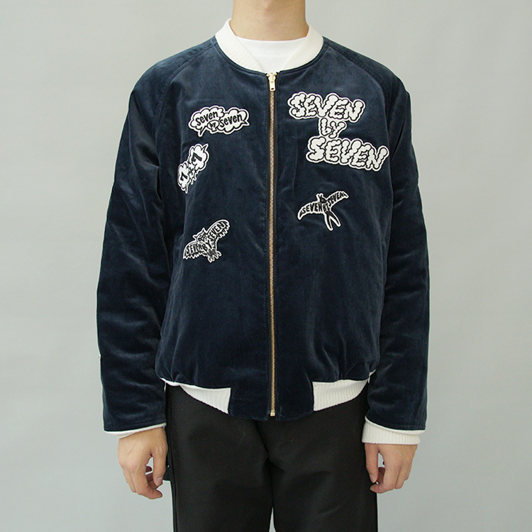 A-studio 藤ヶ谷太輔 衣装 10/2 SEVEN BY SEVEN REVERSIBLE BLOUSON - Skull embroidery Collaborated by Shimoda Masakatsu  ブルゾン