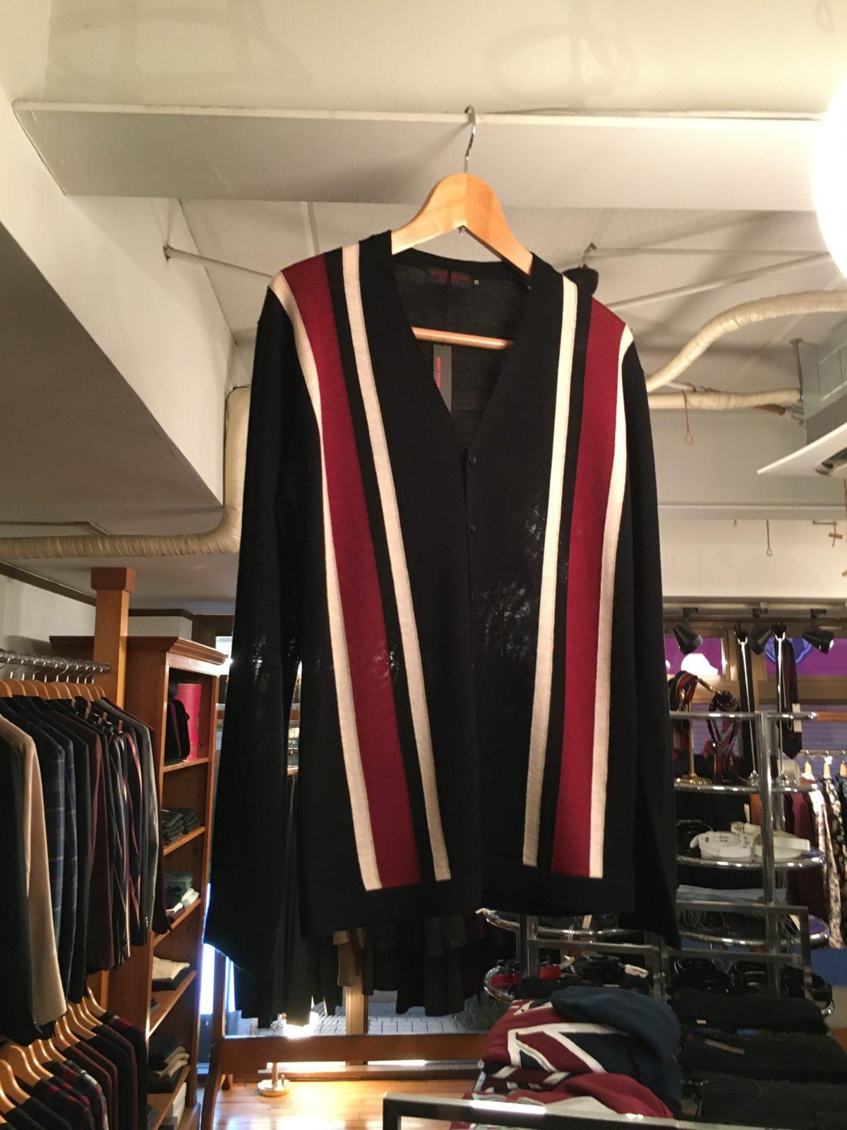 二宮和也 ニノ 嵐 衣装 TVLIFE REATS TAILOR ZAZOUS stripe cardigan