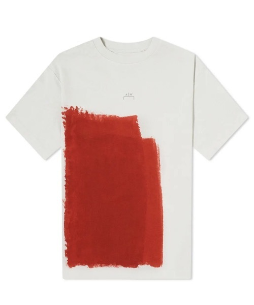 松本潤 嵐 私服 NETFLIX 15話 10/19 A-COLD-WALL block Painted T-shirt