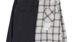 伊野尾慧 衣装 Hey!Say!JUMP メレンゲの気持ち 10/10 MAISON MIHARA YASUHIRO Left Doccking Shirts