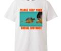 二宮和也 ニノ VS嵐 11/12 衣装 NICHE JOE Tシャツ SOCIAL DISTANCE T-Shirt