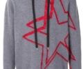 嵐にしやがれ 大野智 衣装 11/21 星柄 パーカー 相葉雅紀記念館 N21インターシャパーカードローストリングフード