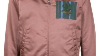 大野智 衣装 嵐にしやがれ 10/31 KENT & CURWEN メンズ ボンバージャケット