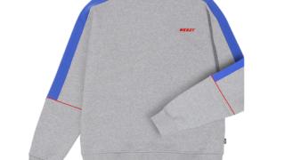 大野智 VS嵐 11/12 衣装 【NERDY】ユニセックス カラー ブロック スウェット トレーナー