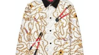 藤ヶ谷太輔 A-Stdio+ Aスタジオ エースタ キスマイ 衣装 SUPREME Chain Quilt Jacket ブルゾン チェーン柄