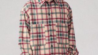 大野智 嵐インスタグラム 衣装 Instagram ARASHI CABaN ウールポリエステルストレッチ タータンチェックシャツ