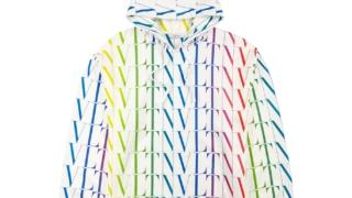 ジェシー SixTONES 紅白リハ 紅白歌合戦リハーサル  2020 VLTN Valentino VLTN Times hooded cotton-blend sweatshirt