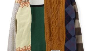 伊野尾慧 メレンゲの気持ち 11/28 衣装 MAISON MIHARA YASUHIRO ドッキングニット セーター