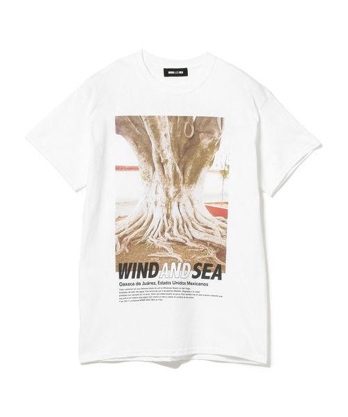 松田元太 Travis Japan トラジャ 私服 Tシャツ WIND AND SEA ウィンダンシー