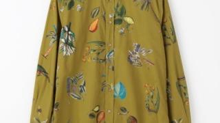 相葉雅紀 一憶3000万人のSHOWチャンネル 衣装 シャツ CABaN コットン ボタニカルプリントシャツ