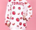 藤井流星 VS魂 衣装 3/25 PUNYUS トマト TOMATO 総柄スウェット
